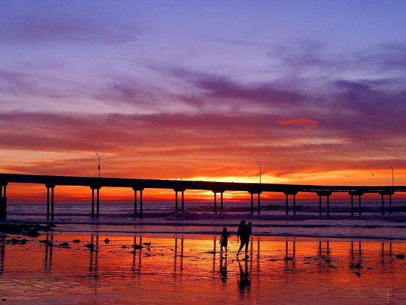 Trendy San Diego Ocean Beach